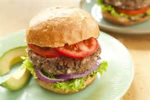 black bean and herb burger